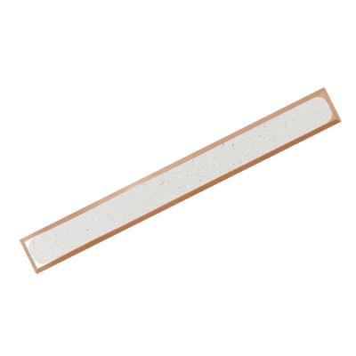 BR H P-PVC R10 guiding strip made of bronz