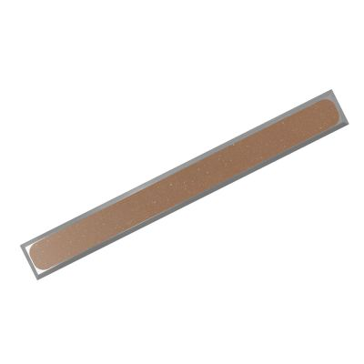 AISI 304 H P-PVC R10 guiding strips made of stainless-steel