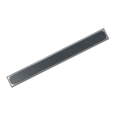 AISI 304 H P-PVC R11 guiding strip made of stainless-steel