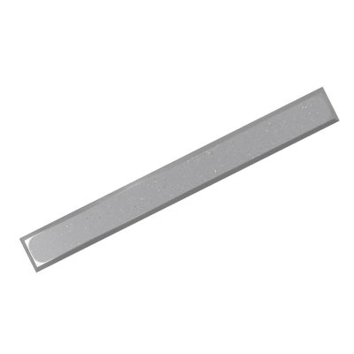 AISI 304 H P-PVC R12 guiding strip made of stainless-steel