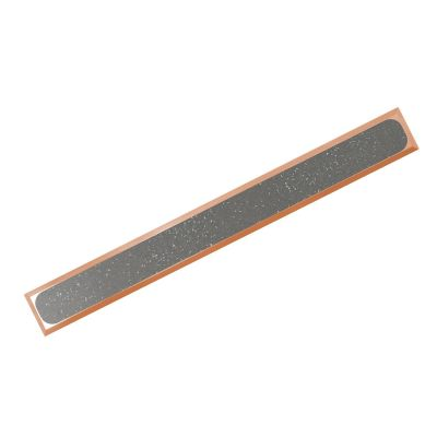 BR H P-PVC R12 guiding strip made of bronze