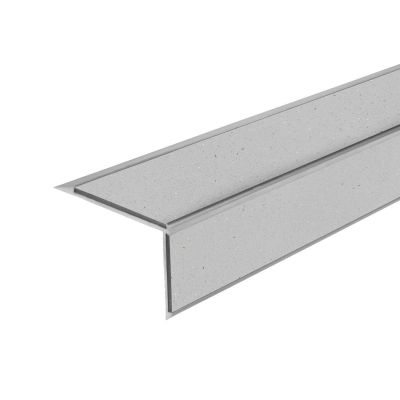 ALH2 PVC R10 without elox stair nosing made of aluminium