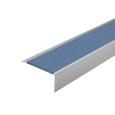 ALH1 PVC R11 elox C-0 stair nosing made of aluminium