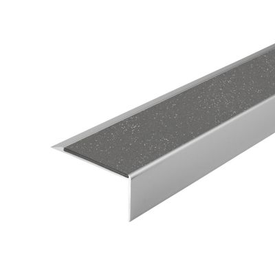 ALH1 PVC R12 elox C-0 stair nosing made of aluminium
