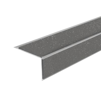 ALH2 PVC R12 without elox stair nosing made of aluminium