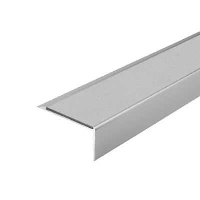 ALH1 PVC R10 elox C-0 stair nosing made of aluminium