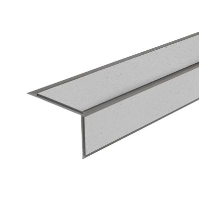 ALH2 PVC R10 elox C-31 stair nosing made of aluminium