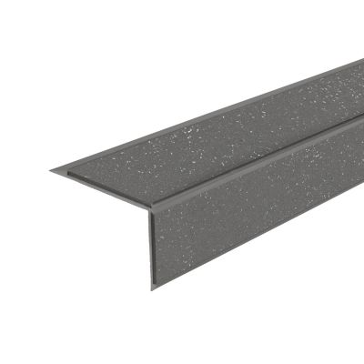 ALH2 PVC R12 elox C-31 stair nosing made of aluminium