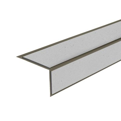 ALH2 PVC R10 elox C-33 stair nosing made of aluminium
