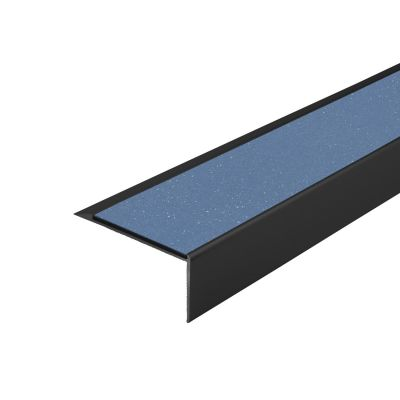 ALH1 PVC R11 elox C-35 stair nosing made of aluminium