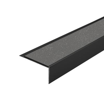 ALH1 PVC R12 elox C-35 stair nosing made of aluminium