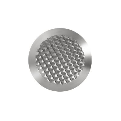 Warning stud made of stainless-steel AISI 303 KD