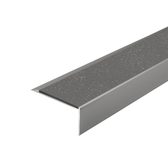 ALH1 PVC R12 elox C-31 stair nosing made of aluminium