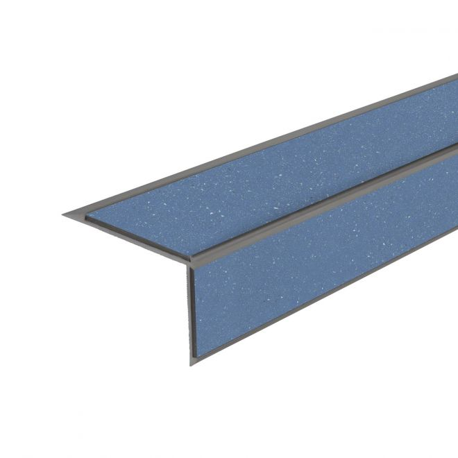 ALH2 PVC R11 elox C-31 stair nosing made of aluminium