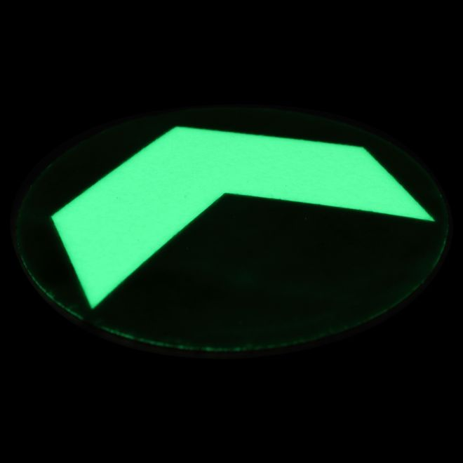 Arrow glowing in the dark (10 pieces)
